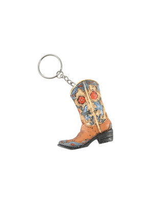 Cowgirl Key Chain