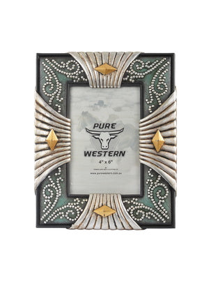 Silver Look 4-Side Picture Frame - Vault Country Clothing