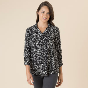 Animal Print Shirt - Vault Country Clothing