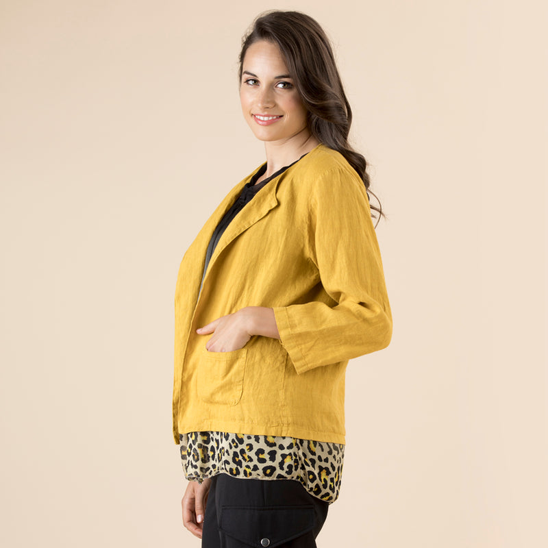 Open Cropped Jacket - Vault Country Clothing