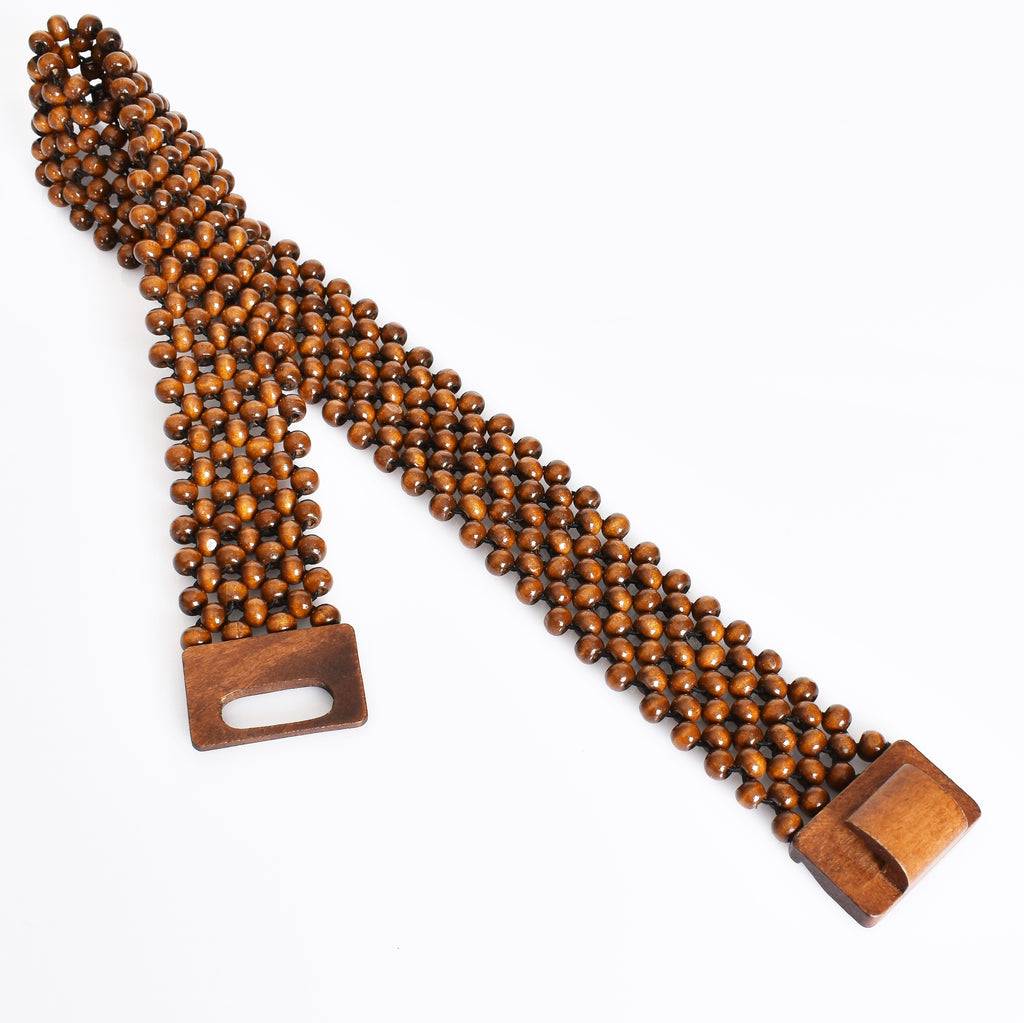 Timber Bead Stretch Belt - Vault Country Clothing
