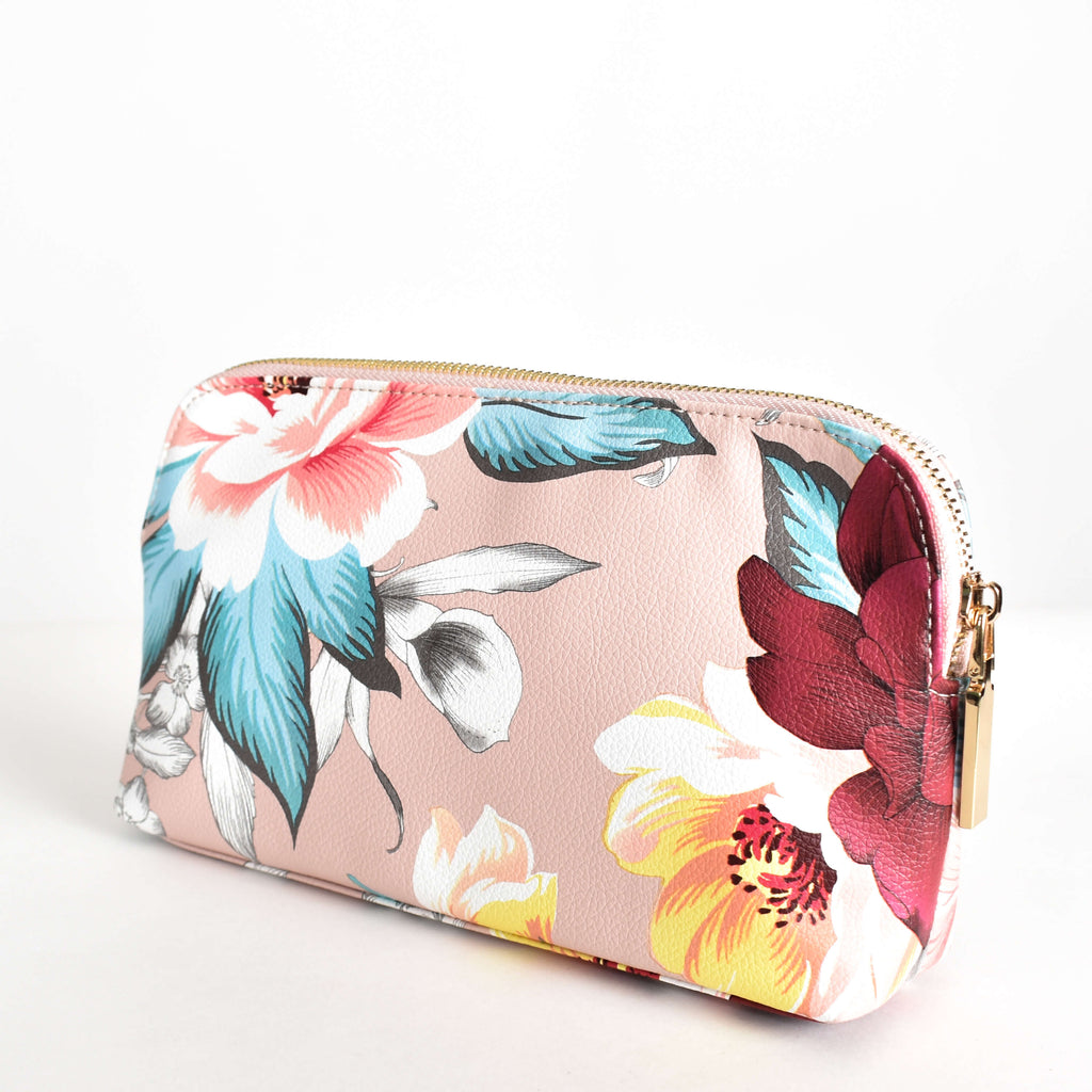 Summer Garden Makeup Case