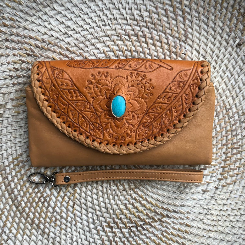 Shoe Shu Leather Wallet - Vault Country Clothing