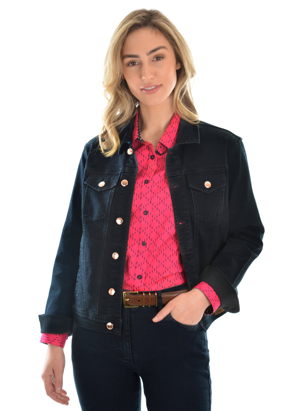 Angel Denim Jacket - Vault Country Clothing