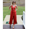 Frill Detail Jumpsuit - Vault Country Clothing