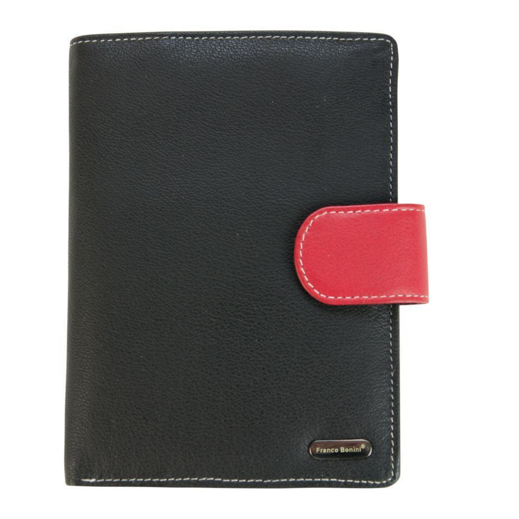 Women's Black Multi Wallet