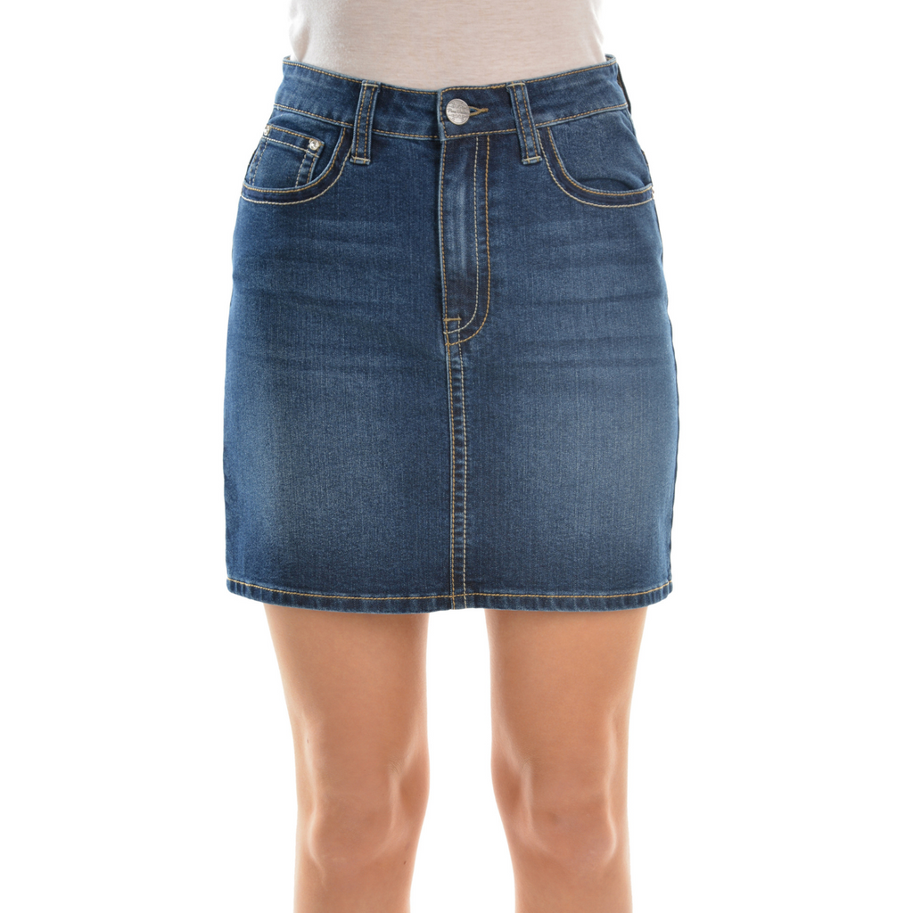 Hope A Line Denim Skirt