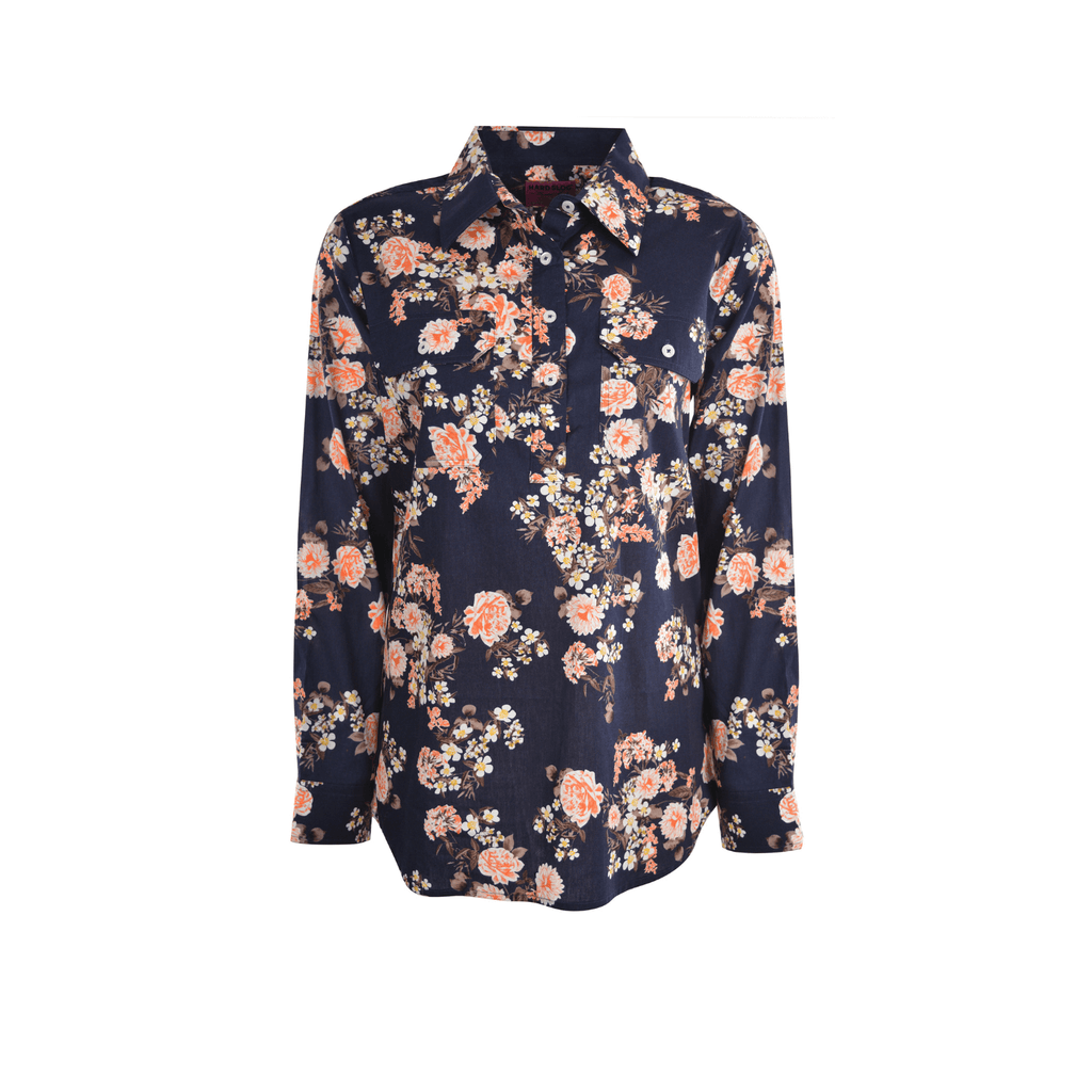 Women's Half Placket L/s Shirt