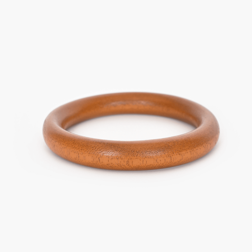 Thin Rounded Timber Bangle