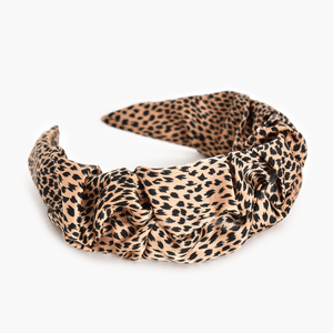 Animal Instinct Knot Headband