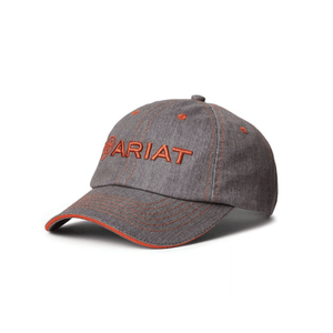 Ariat Unisex Heather Grey/Red Clay Cap