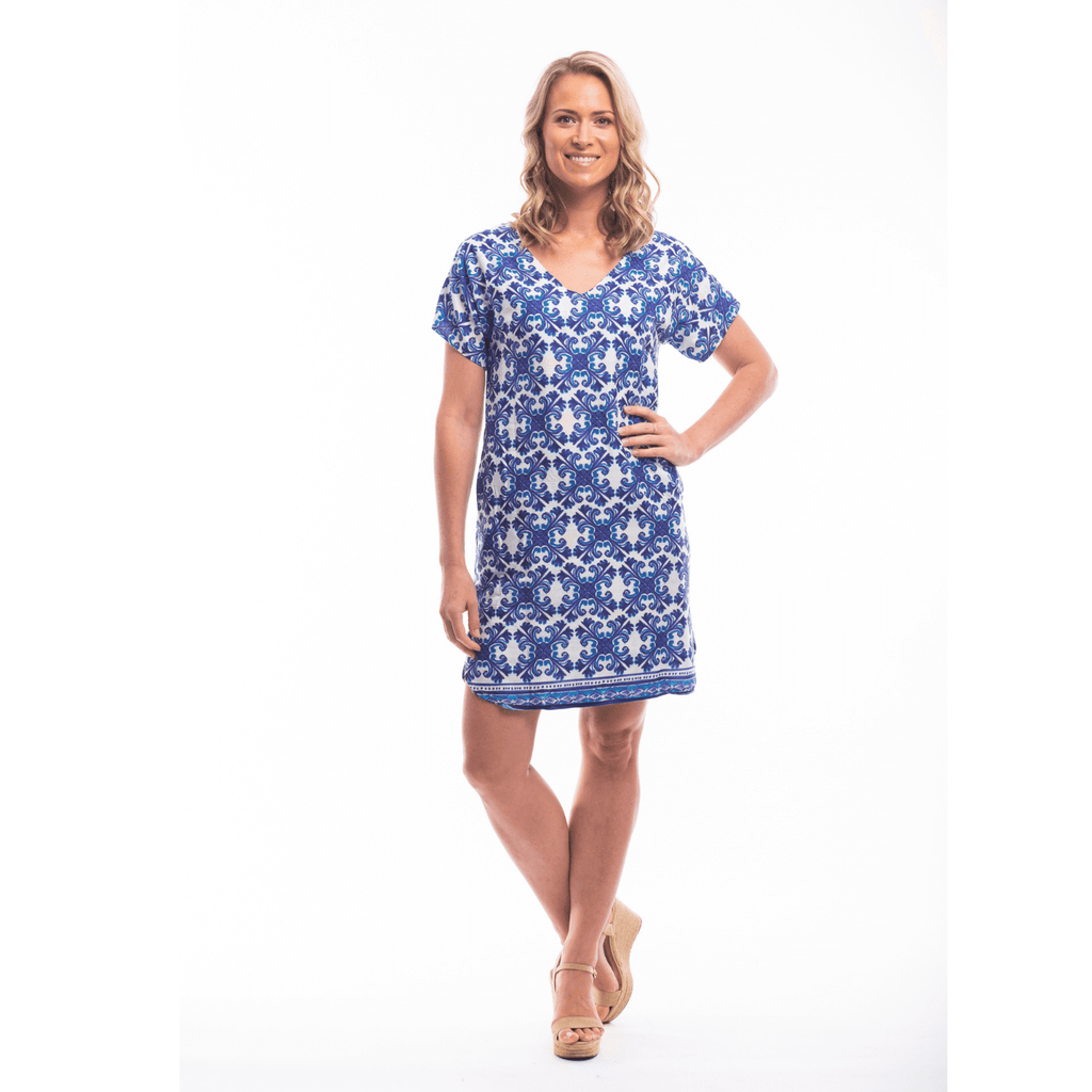Algarve Print Dress