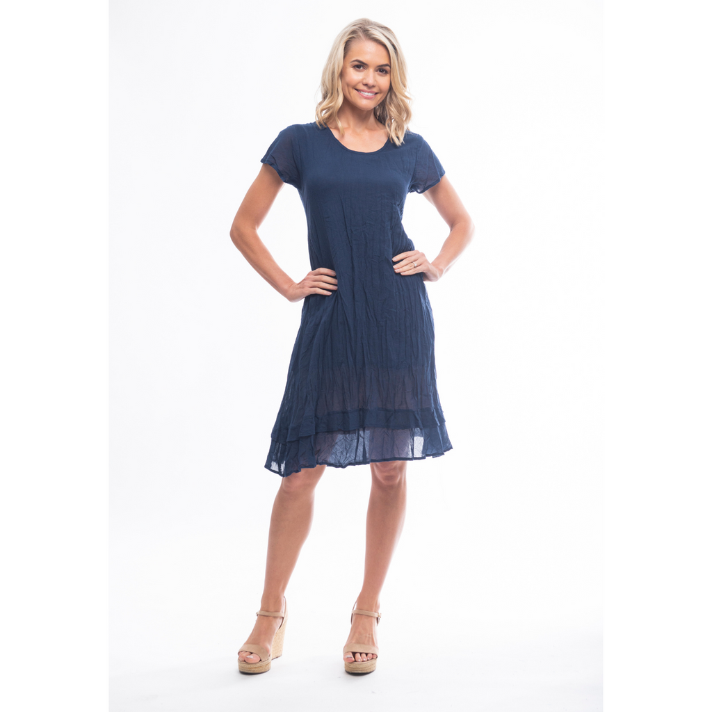 Essentials Dress Cotton Frill