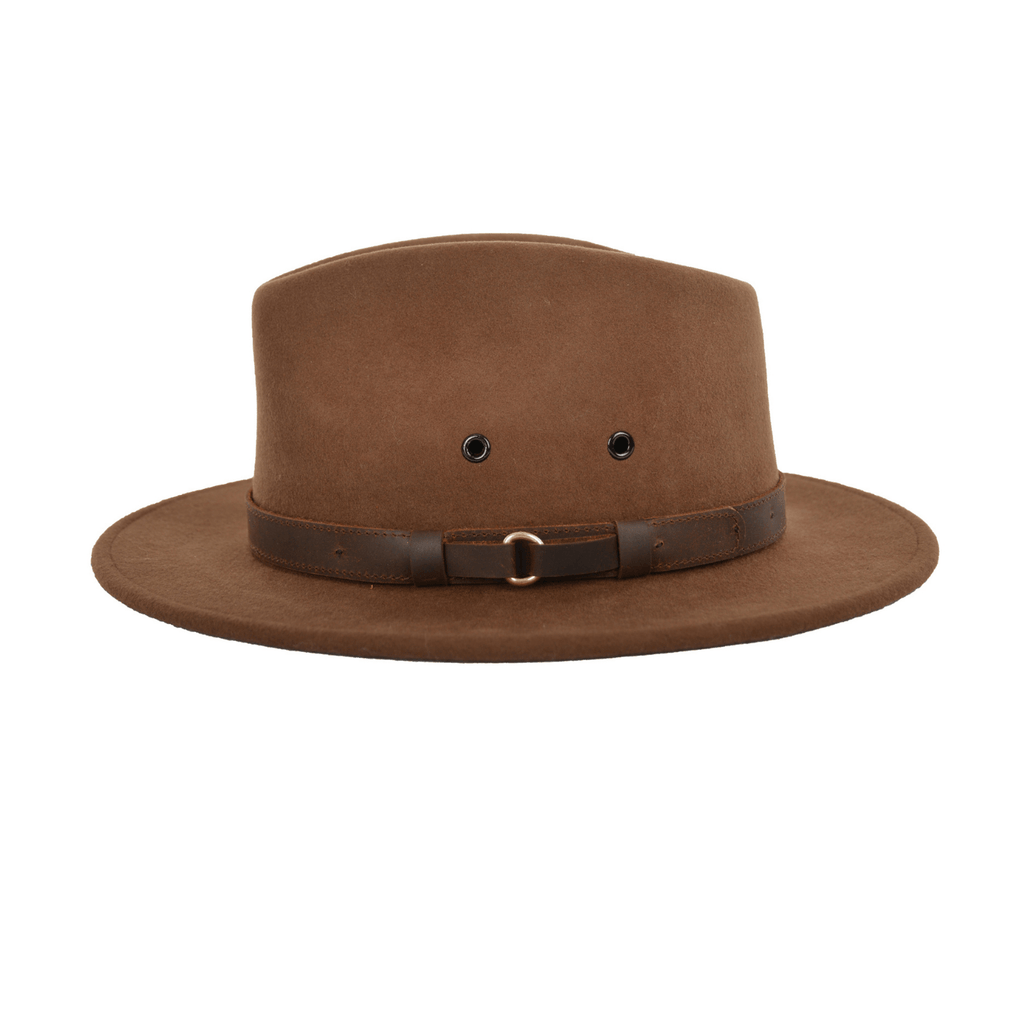 Casablanca Crushable Merino Wool Felt Hat