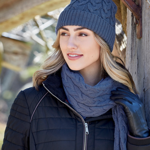 Cable Knit Scarf - Vault Country Clothing