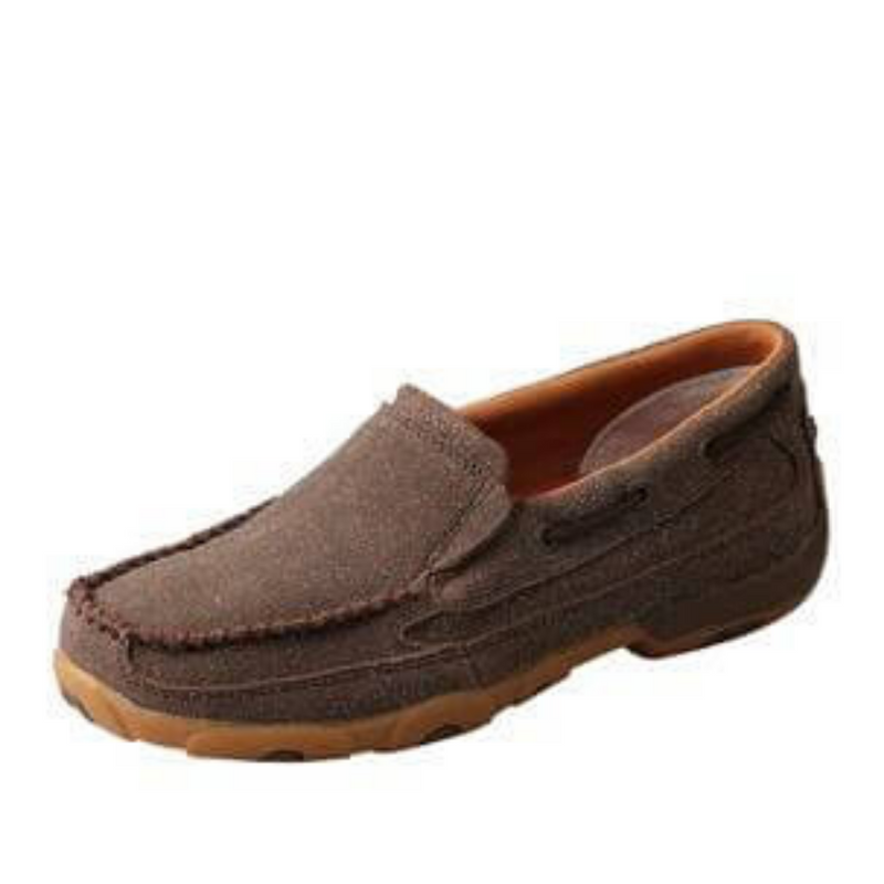 Women's Chocolate Shimmer Mocs slip on - Vault Country Clothing