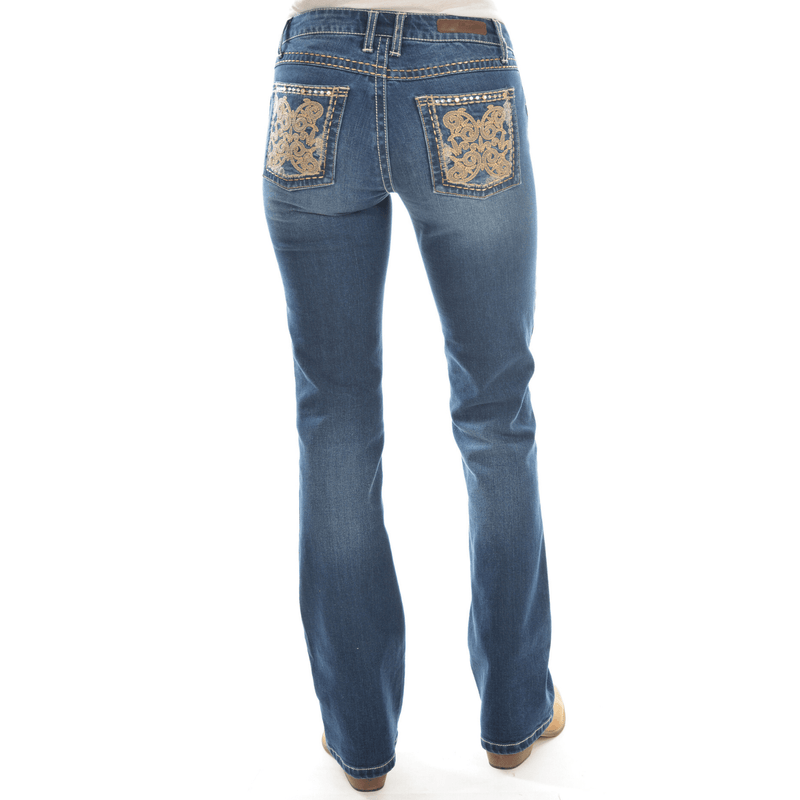 Womens Sits Above Hip Jean 34leg - Vault Country Clothing