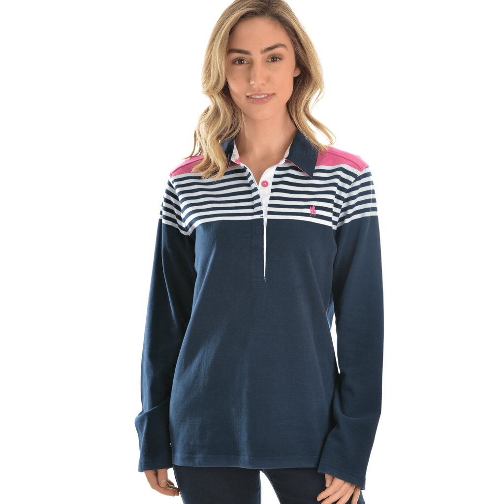 Wodonga Stripe Rugby - Vault Country Clothing
