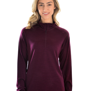 Merino Blend 1/4 Zip Skivvy - Vault Country Clothing