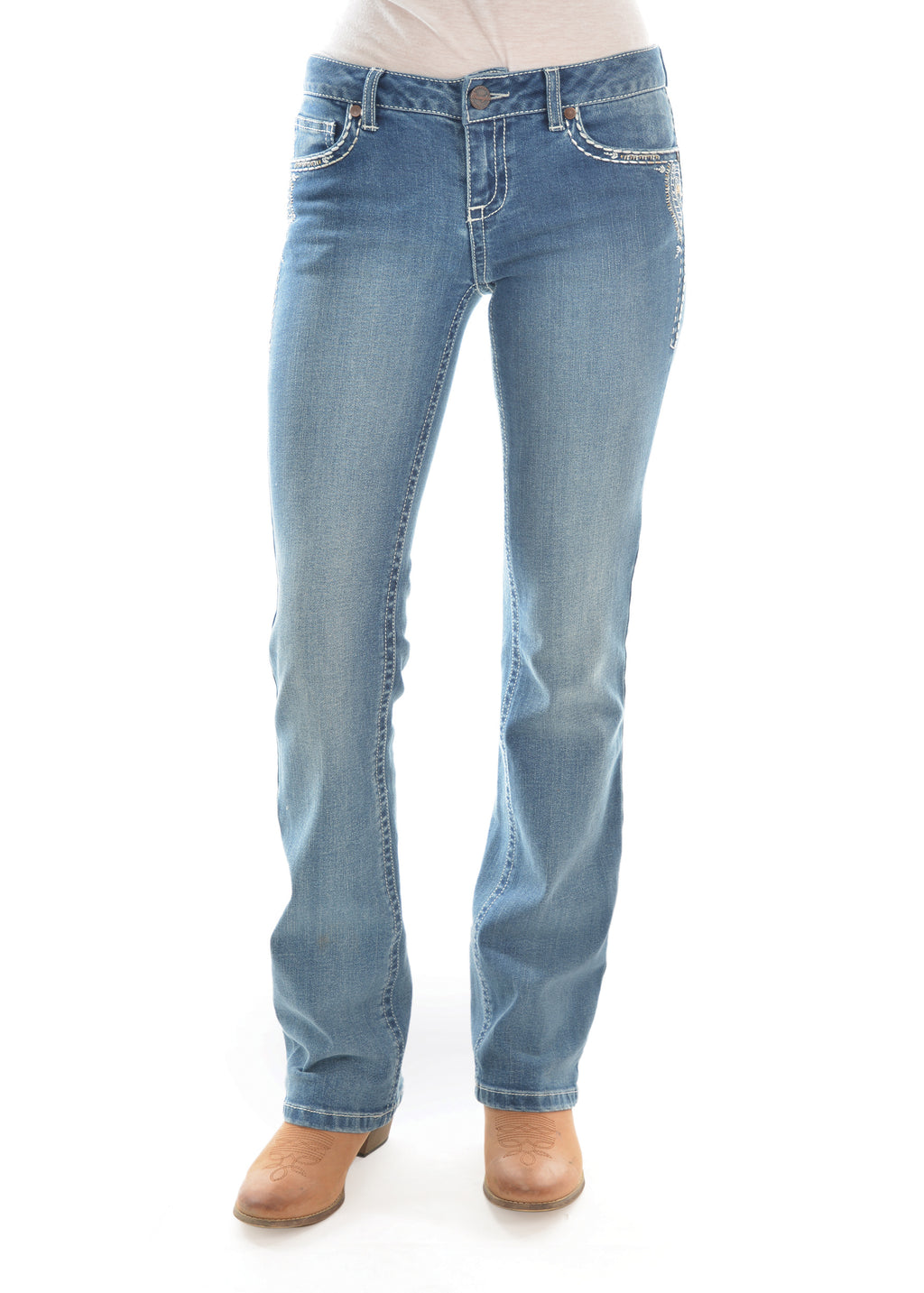 Women's Sits Above Hip Jean