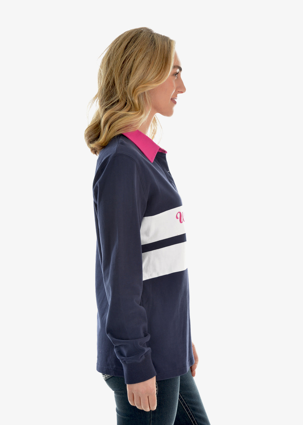 Jenna Panelled L/S Rugby