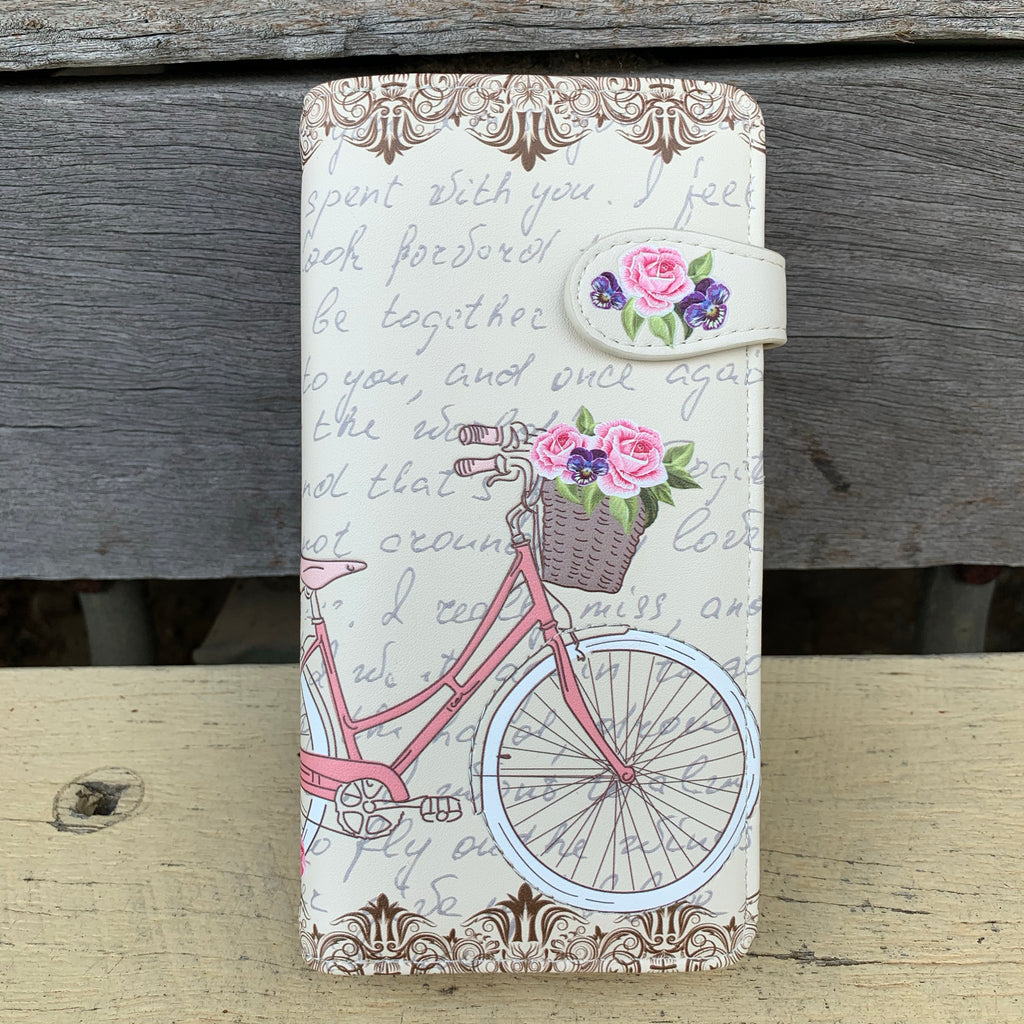 Paris Bicycle Wallet - Vault Country Clothing