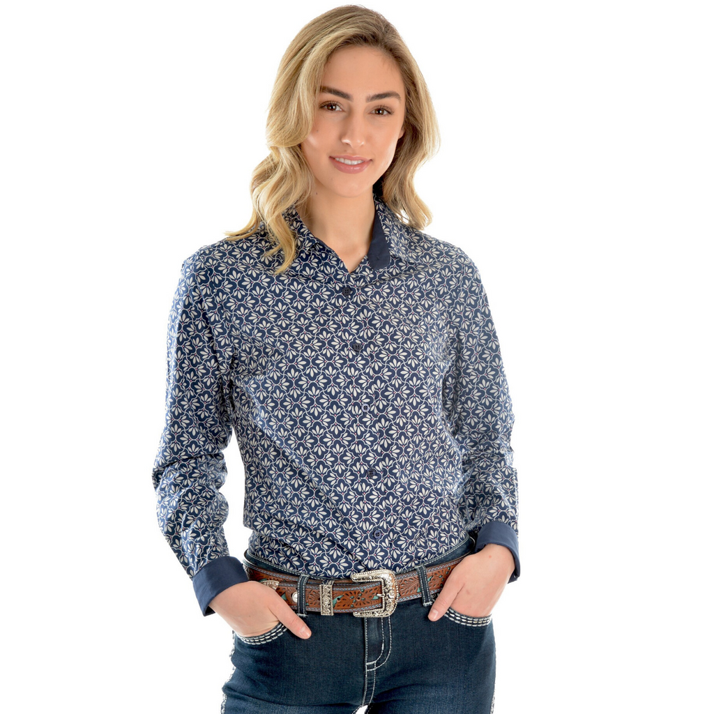 Estelle Print Shirt - Vault Country Clothing