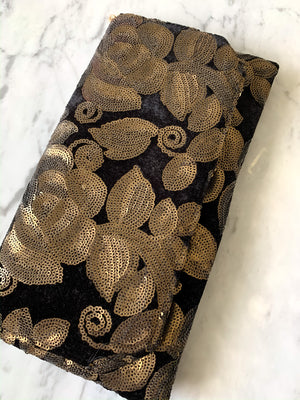 Floral Sequin Clutch - Vault Country Clothing