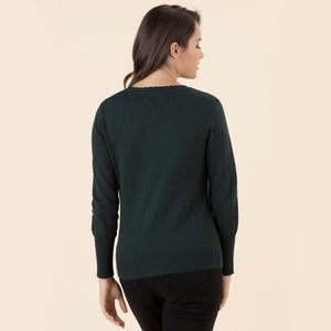 Scallop Forest Jumper - Vault Country Clothing