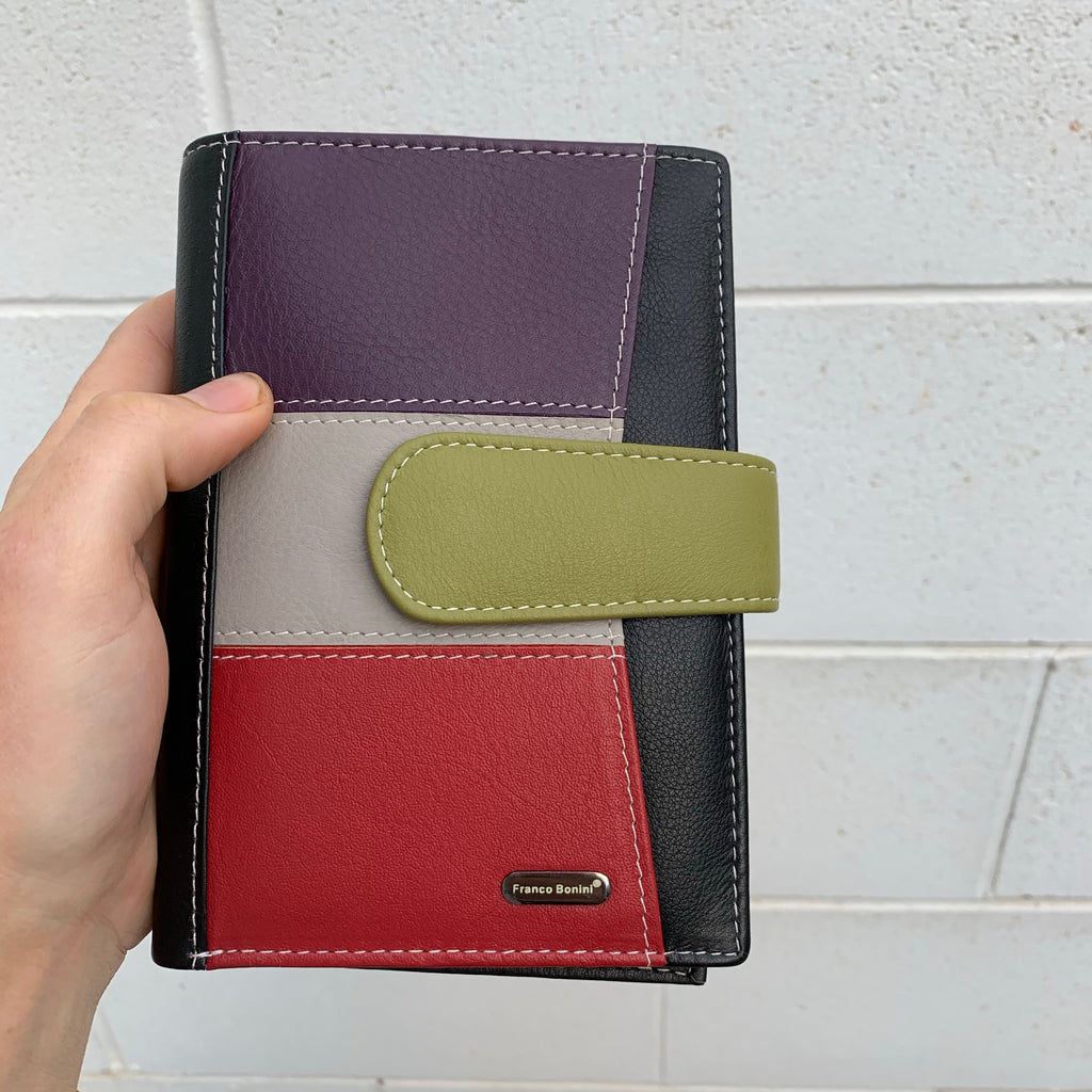 Red Multi Wallet