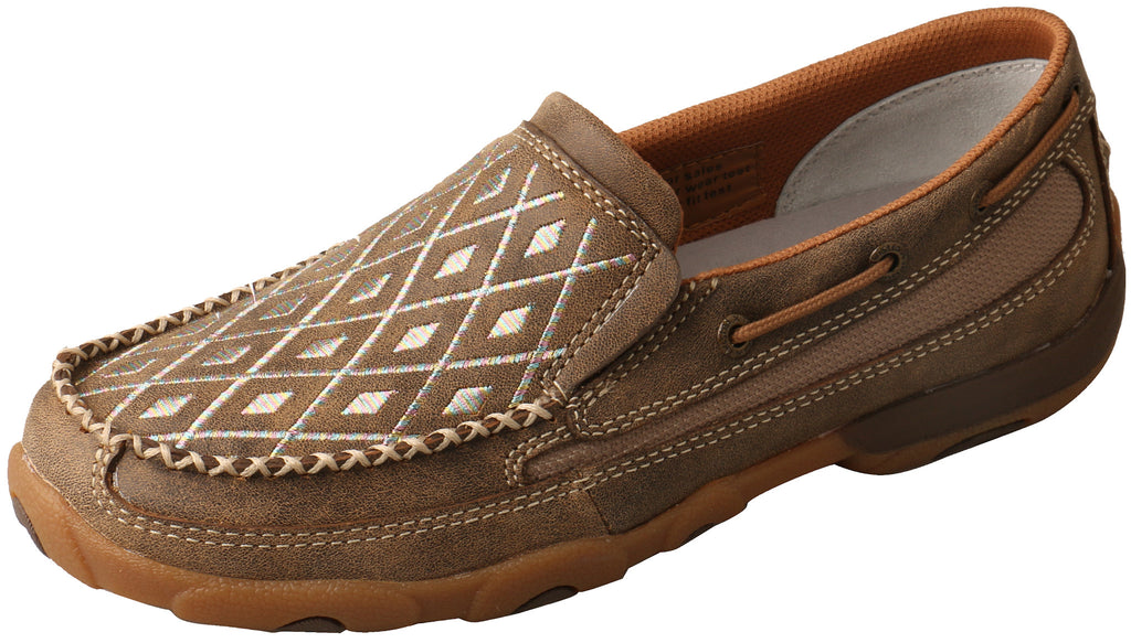 Women's Diamond Moc Slip On