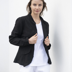 Essential Linen Jacket - Vault Country Clothing