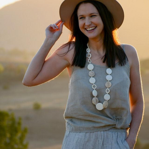 The Linen Camisole - Vault Country Clothing