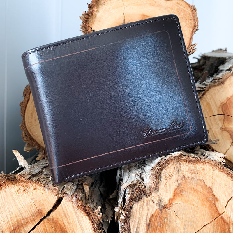 Men's Leather Edge Wallet