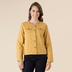 Collarless Jacket - Vault Country Clothing