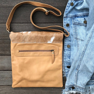 Ilde & Leather Raw Flap Sling Bag - Vault Country Clothing