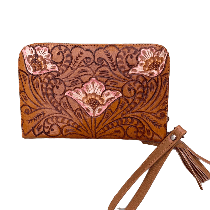 Wild & Free Round Wallet - Vault Country Clothing
