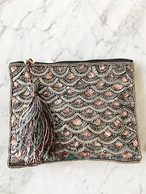 Gunmetal Copper Clutch - Vault Country Clothing