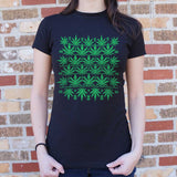 Sweet Leaf Ugly Sweater T-Shirt (Ladies)