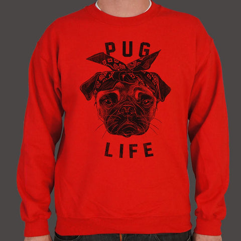 Pug Life Dog Sweater (Mens)