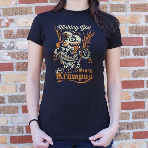 Scary Krampus T-Shirt (Ladies)