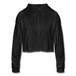 Women's Cropped Hoodie (Customizable) - deep heather
