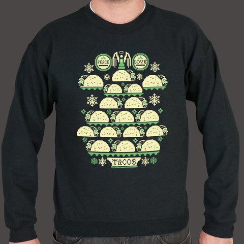 Ugly Taco Sweater Sweater (Mens)