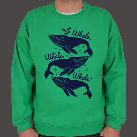 Whale Whale Whale  Sweater (Mens)
