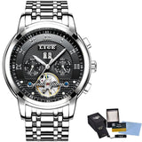 LIGE Mens Watches Fashion Top Brand Luxury Business