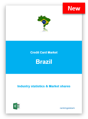 CREDIT CARD MARKET IN BRAZIL. INDUSTRY STATISTICS AND ISSUERS RANKING.