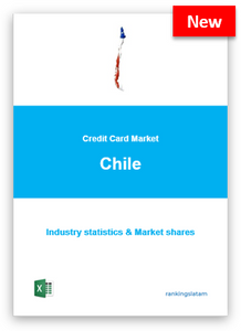 CREDIT CARD MARKET IN CHILE. INDUSTRY STATISTICS AND ISSUERS RANKING.