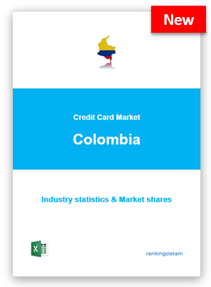 CREDIT CARD MARKET IN COLOMBIA. INDUSTRY STATISTICS AND ISSUERS RANKING.