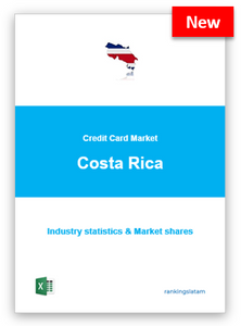 CREDIT CARD MARKET IN COSTA RICA. INDUSTRY STATISTICS AND ISSUERS RANKING.