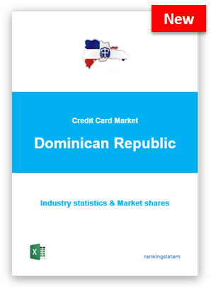 CREDIT CARD MARKET IN DOMINICAN REPUBLIC. INDUSTRY STATISTICS AND ISSUERS RANKING.